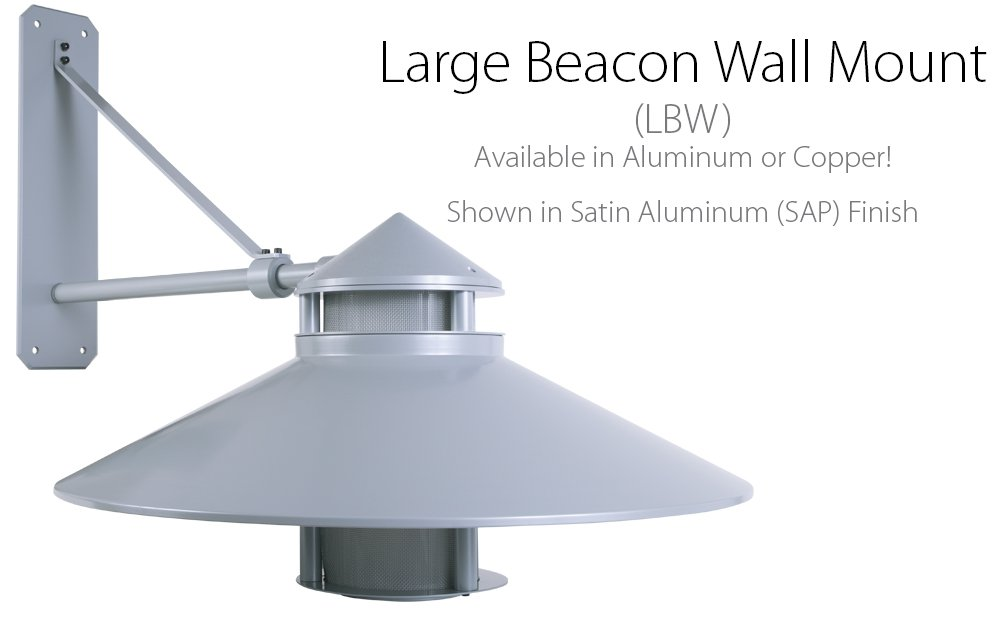 Teka Specialty Lighting Large Beacon Wall Mount Solid